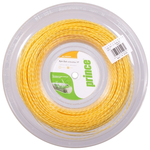 Prince Synthetic Gut Duraflex 17 Tennis String Reel