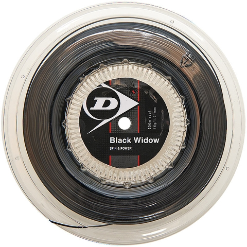 Dunlop Black Widow 16 Tennis String Reel