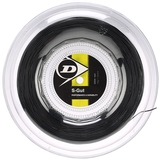 Dunlop Synthetic Gut 16 Tennis String Reel - Black