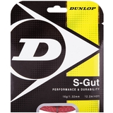 Dunlop Synthetic Gut 16 Tennis String Set - Red