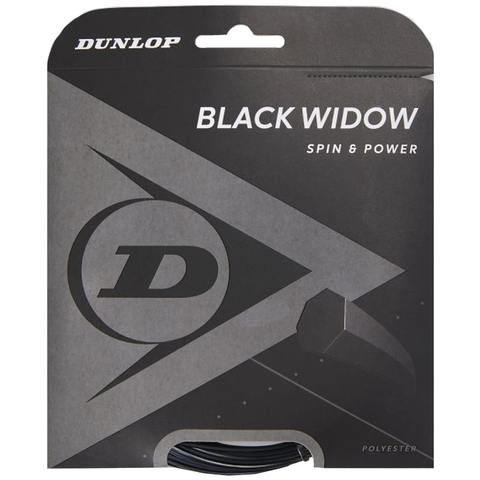 Dunlop Black Widow 18 Tennis String Set