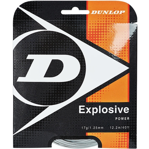 Dunlop Explosive 17 Tennis String Set