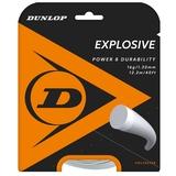 Dunlop Explosive 16 Tennis String Set - Silver