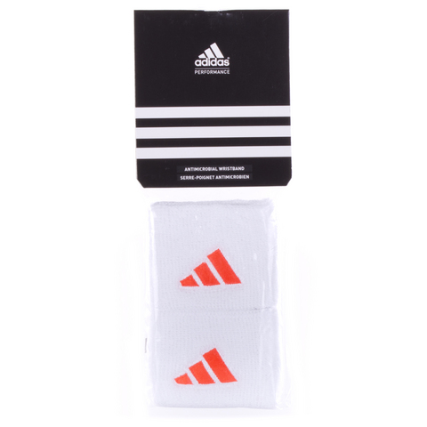 Adidas Tennis Wristband White/Orange