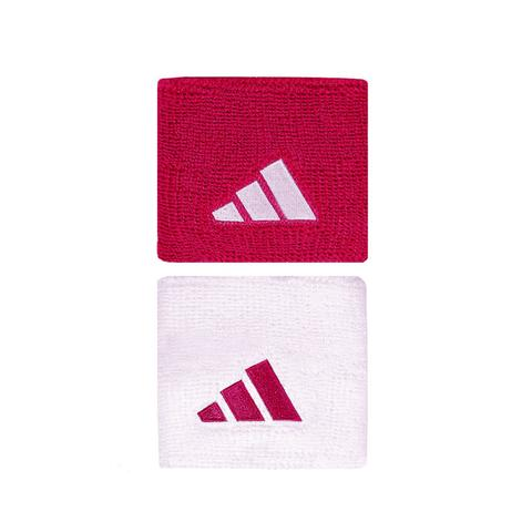 Adidas Tennis Wristbands Pink/White