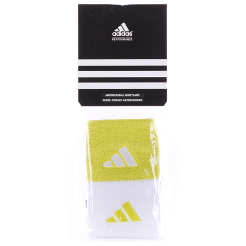 Adidas Tennis Wristbands Yellow/White