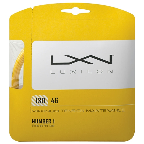 Luxilon 4g 16 Tennis String Set