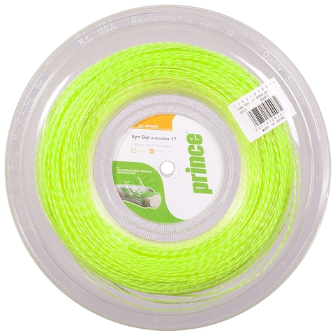 Prince Synthetic Gut Duraflex 16 Tennis String Reel