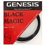 Genesis Black Magic 16 Tennis String Set - Black