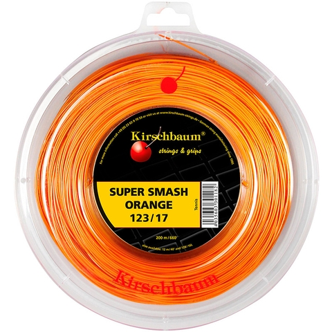 Kirschbaum Super Smash Orange 1.23 Tennis String Reel
