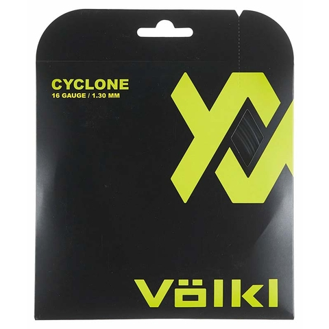 Volkl Cyclone 16 Tennis String Set - Black