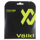 Volkl Cyclone 16 Tennis String Set - Black
