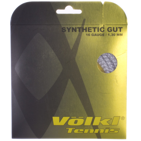 Volkl Syn Gut 16 White Tennis String Set