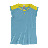 Adidas Adizero Girl's Tennis Cap-Sleeve Shirt