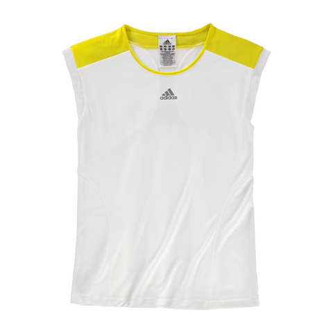 Adidas Adizero Girl's Tennis Cap- Sleeve Shirt