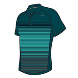 Nike Advantage UV Stripe Polo Men's Tennis Shirt