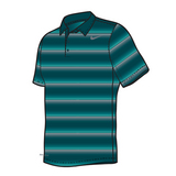 Nike Rally Sphere Stripe Polo Men's Tennis Shirt