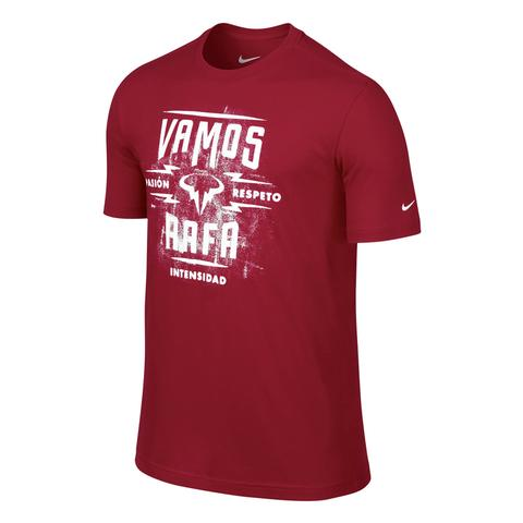 Nike Vamos Rafa Lockup Ss Men's Tennis Shirt