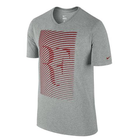 Nike Rf Ss Trophy Ss V- Neck Ss Men's Tennis Shirt