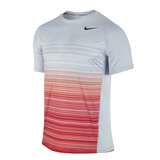 Nike Advantage UV Stripe Crew Men's Tennis Shirt
