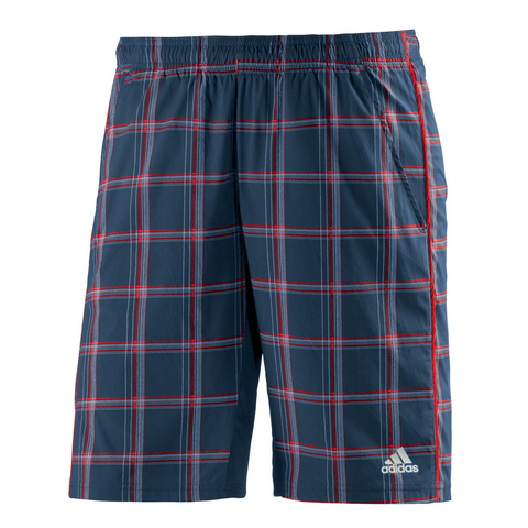 Adidas Sequencials Plaid Men's Tennis Short