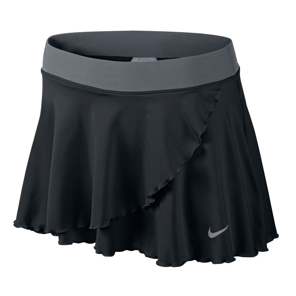 nike ruffle knit s tennis skirt