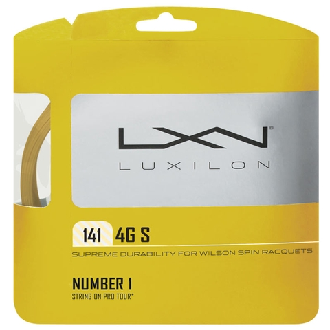 Luxilon 4g S 15g Tennis String Set