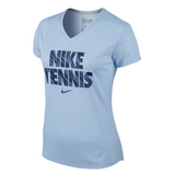 Nike V-Neck SS Women's Tennis Tee