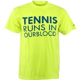 Babolat Runs In Our Blood Men`s T-Shirt