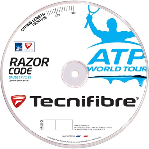 Tecnifibre Atp Razor Code 17 Tennis String Reel