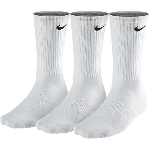 Nike 3 Pack Crew Men's Large Tennis Socks