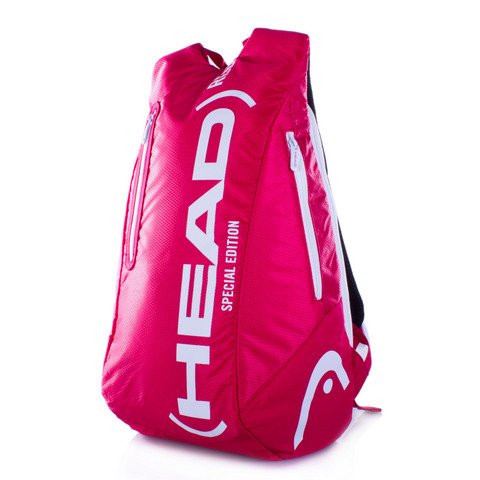Head Red Back Pack Tennis Bag