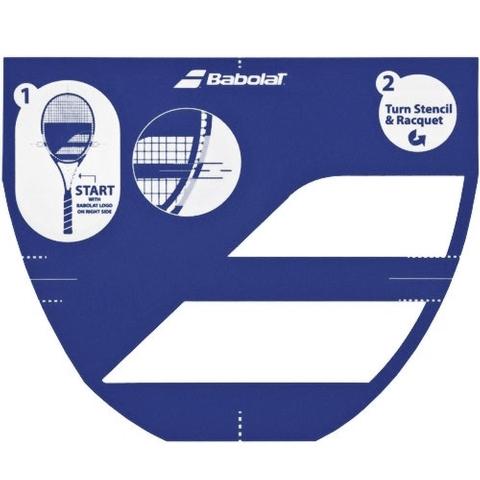 Babolat Logo Stencil