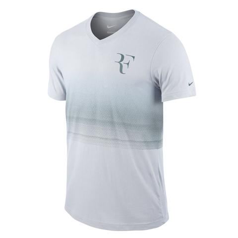 Nike Rf Trophy V- Neck Men's Tennis Tee
