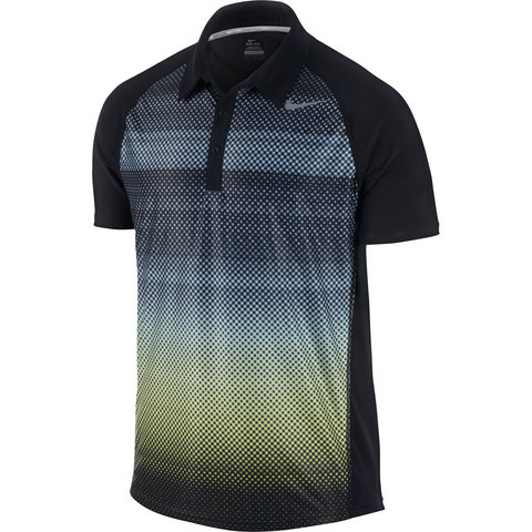 Nike Advantage Uv Graphic Men's Tennis Polo