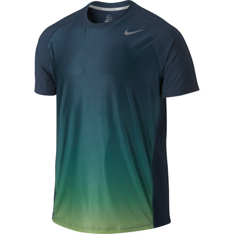 Nike Advantage Uv Graphic Men's Tennis Crew