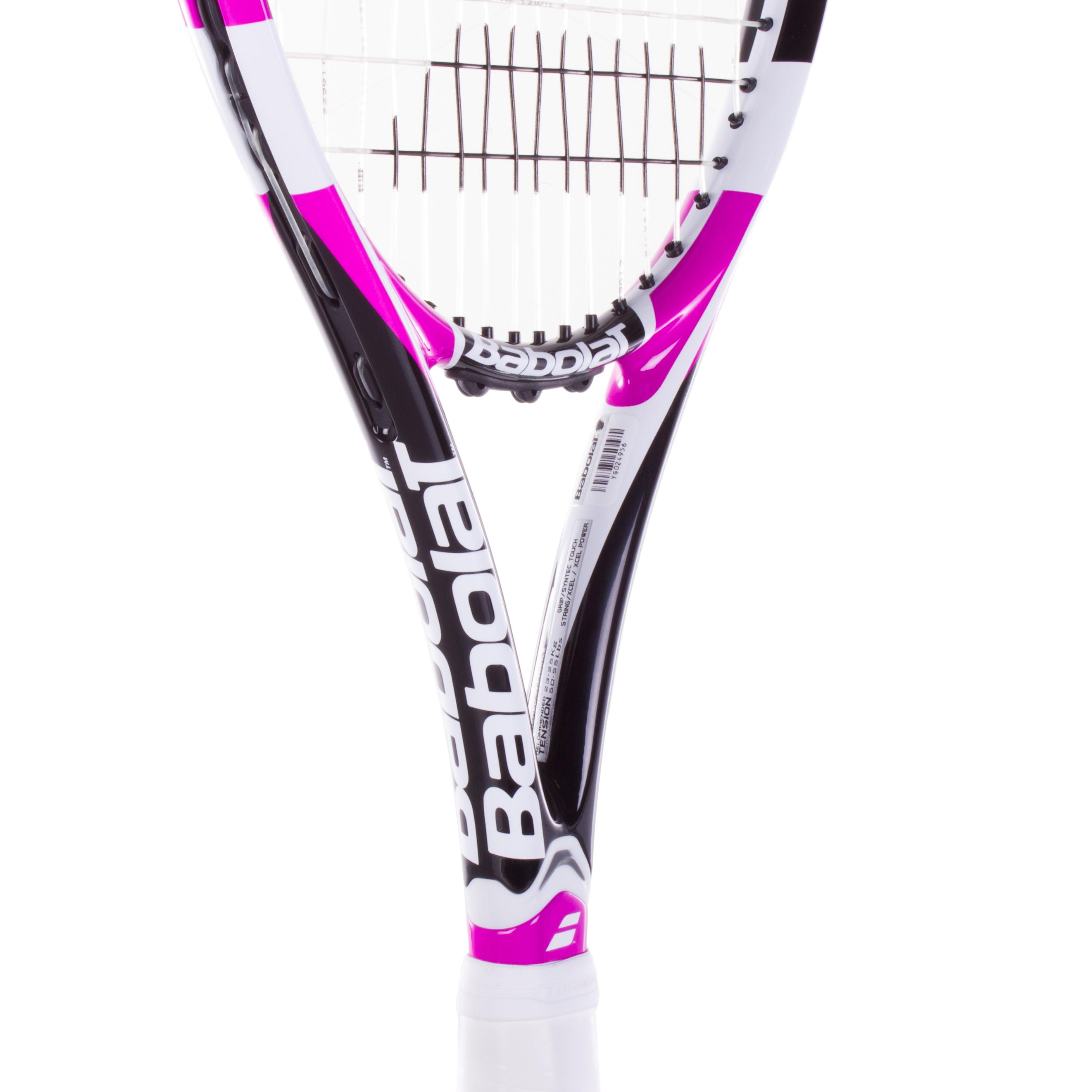babolat drive z lite pink tennis racquet. Black Bedroom Furniture Sets. Home Design Ideas