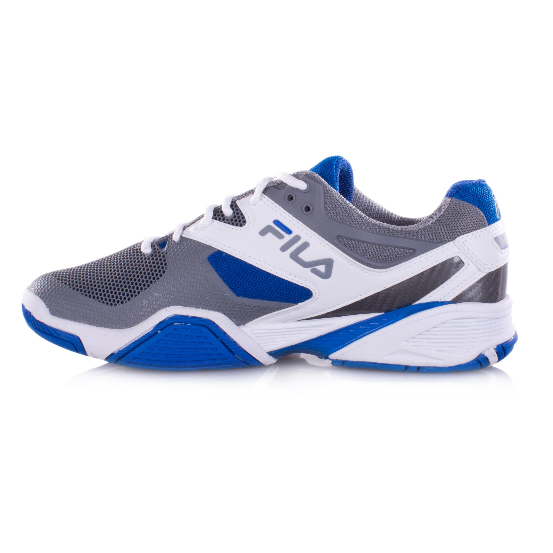 fila sentinel s tennis shoes white blue grey