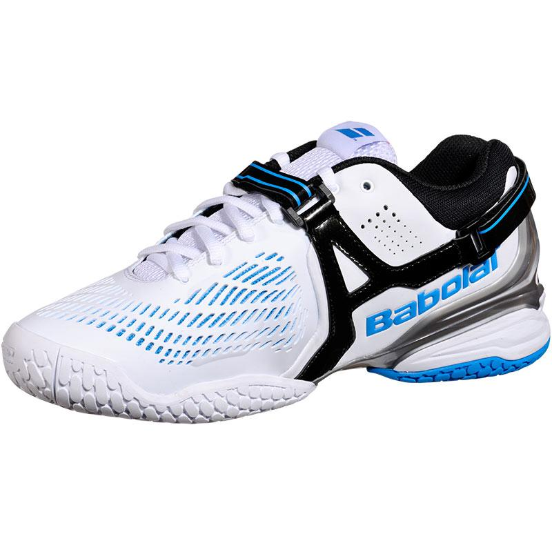 babolat propulse 4 s tennis shoes white blue