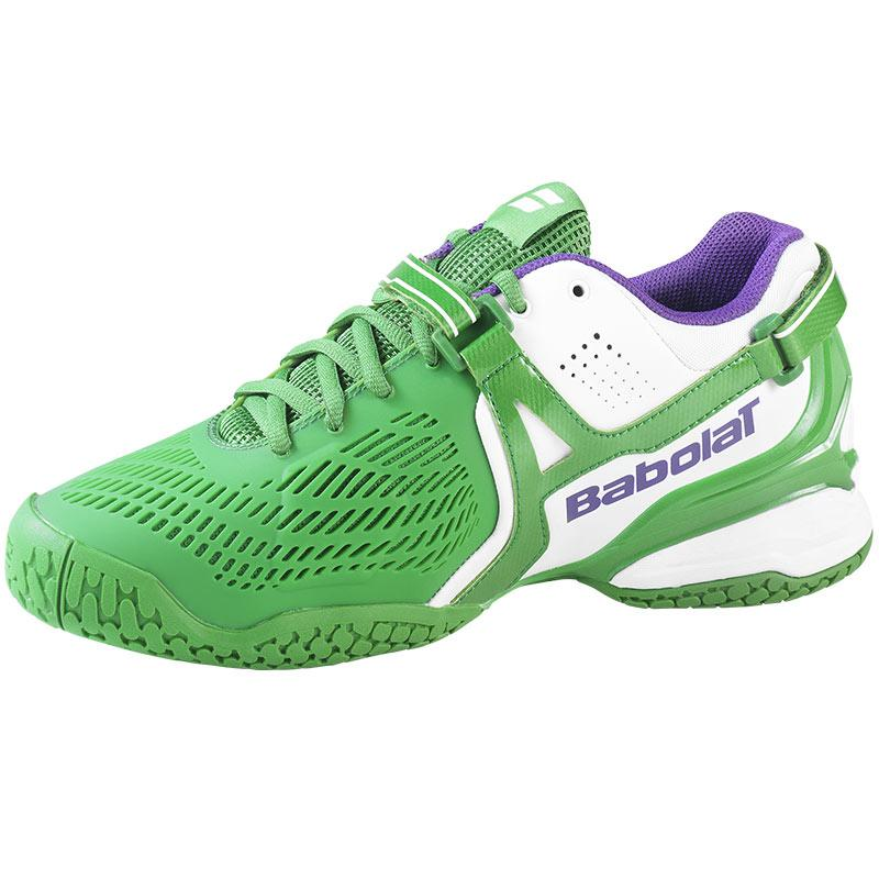 babolat propulse 4 wimbledon s tennis shoe green