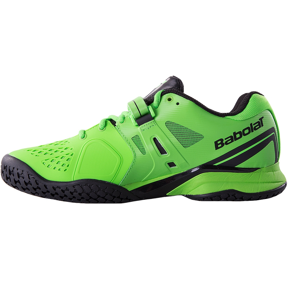 babolat propulse bpm all court s tennis shoe green black