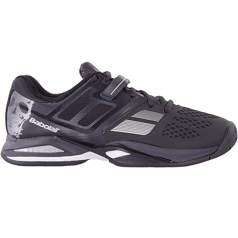 babolat propulse skull all court s tennis shoe black