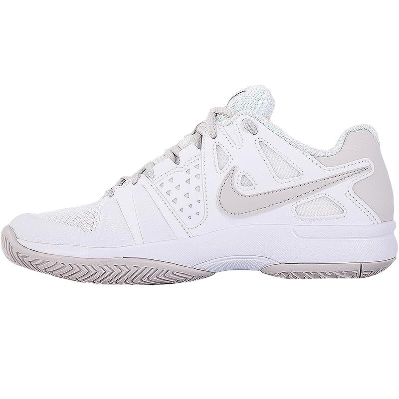 nike air vapor advantage s tennis shoe white