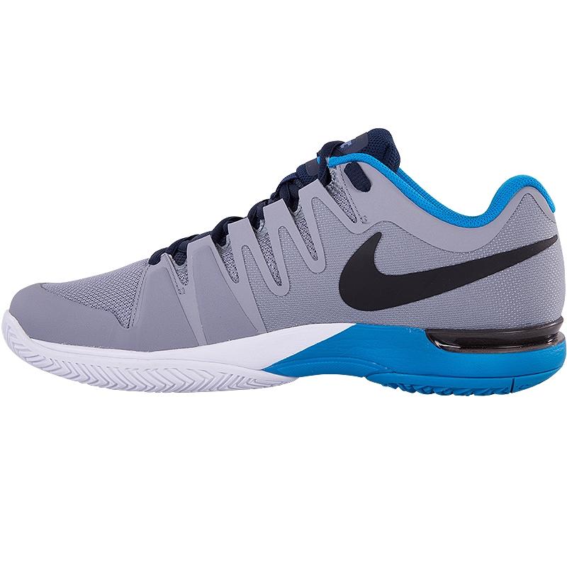 nike zoom vapor 9 5 tour s tennis shoe grey blue