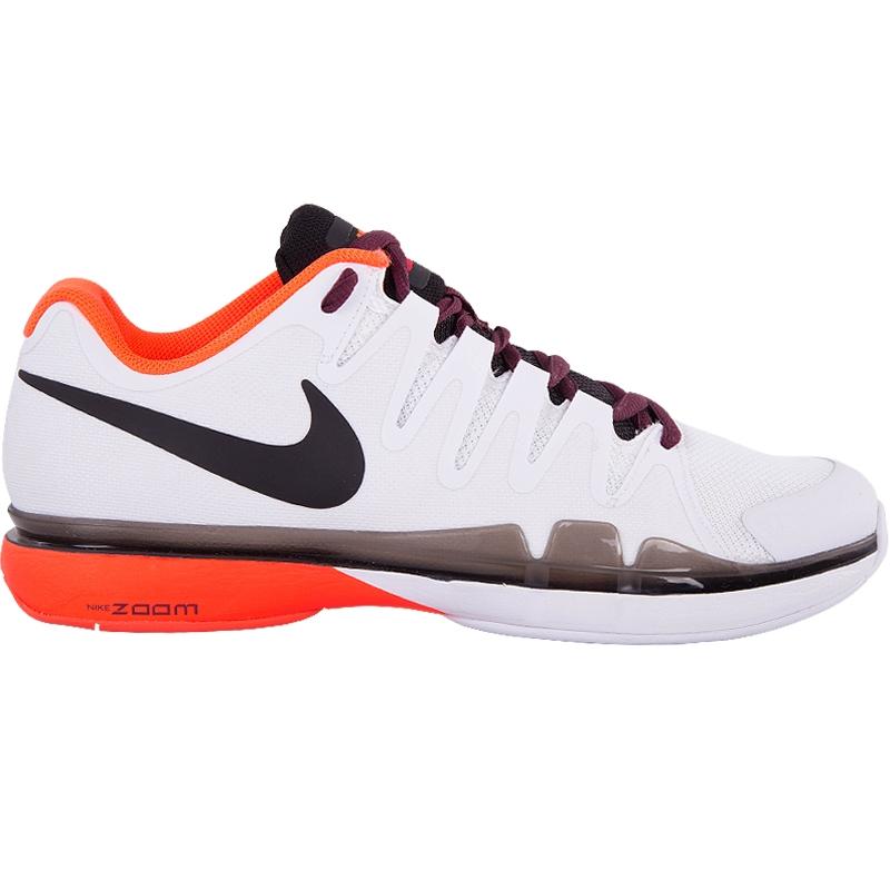 nike zoom vapor 9 5 tour s tennis shoe white orange