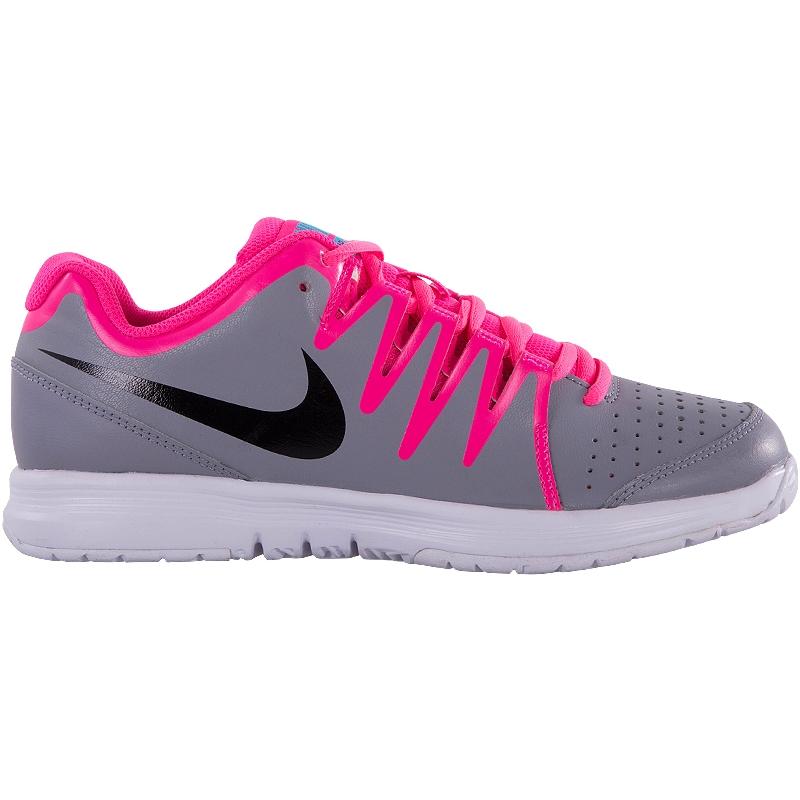 nike vapor court s tennis shoe pink black