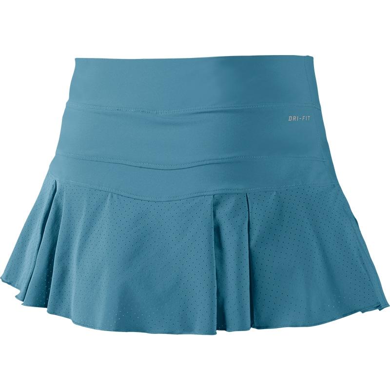 nike victory breathe s tennis skirt stratusblue white