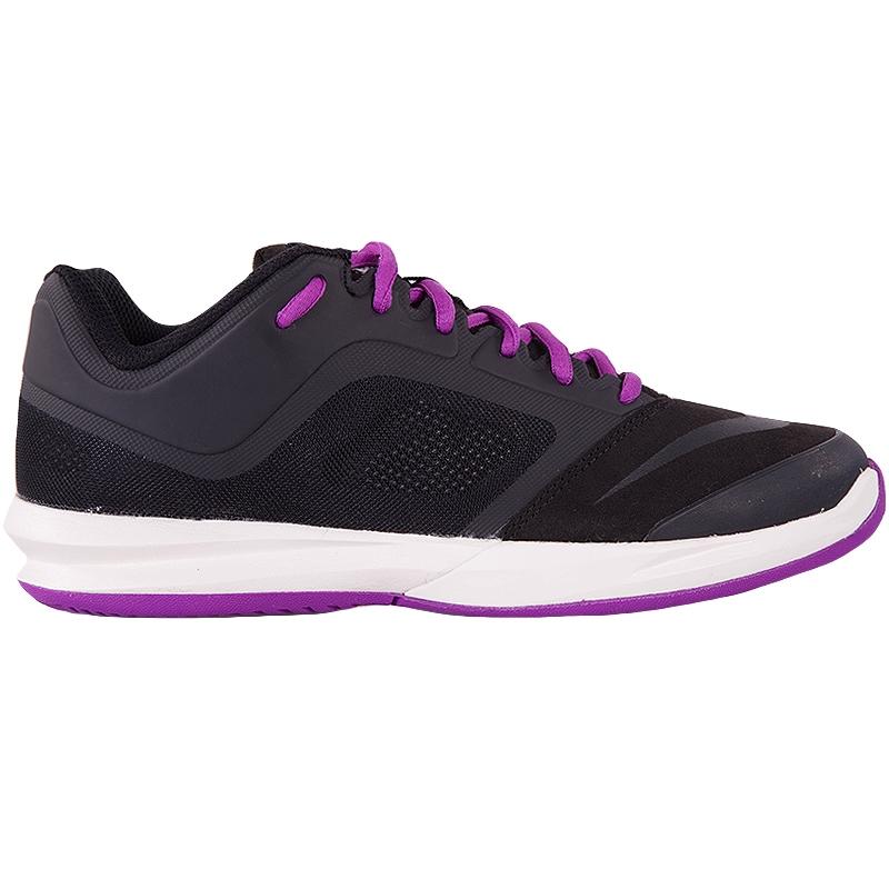 nike ballistec advantage s tennis shoe black purple