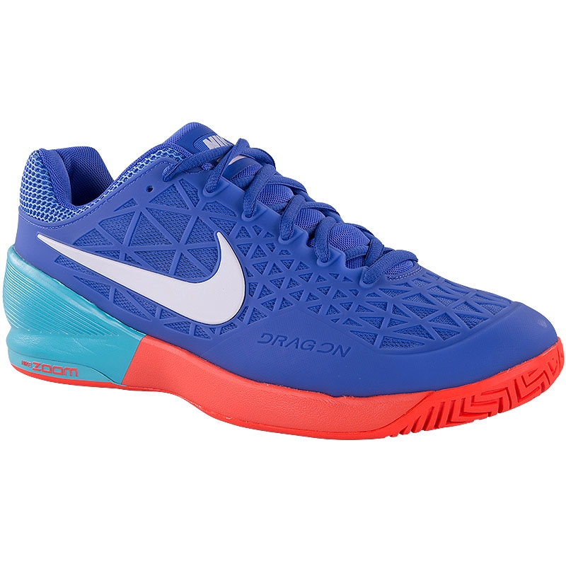 nike zoom cage 2 cage s tennis shoe blue