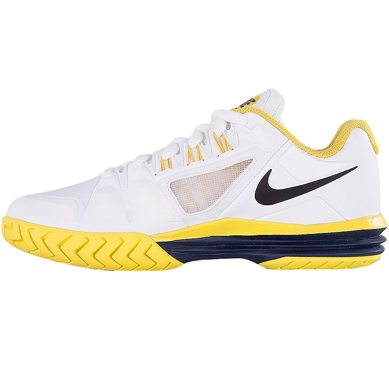 nike lunar ballistec 1 5 s tennis shoe white yellow black